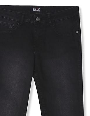 Newport Skinny Fit Mid Rise Jeans