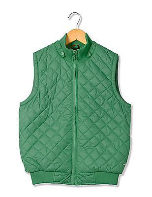 U.S. Polo Assn. Kids Boys Solid Gilet Jacket