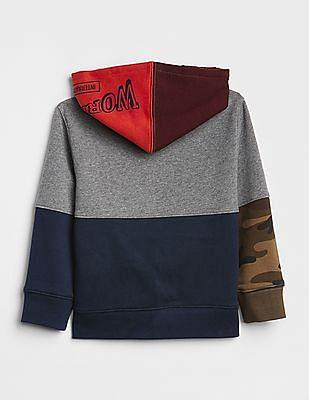 GAP Baby Logo Remix Hoodie Sweatshirt