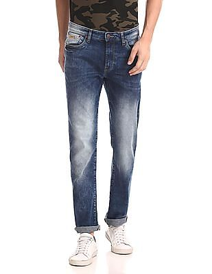Aeropostale Slim Straight Fit Stone Wash Jeans