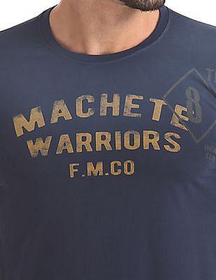 Flying Machine Slim Fit Printed T-Shirt