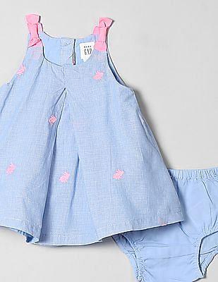 GAP Baby Check A-Line Dress