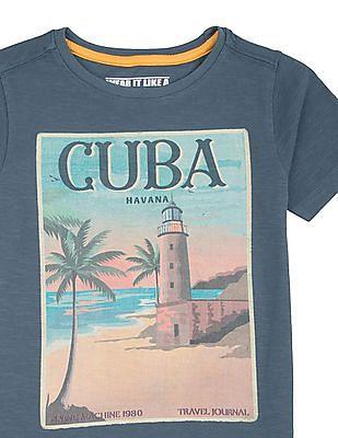 FM Boys Boys Graphic Print T-Shirt
