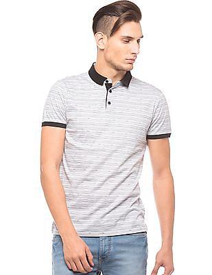Arrow Newyork Melange Regular Fit Polo Shirt