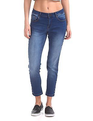 Cherokee Slim Fit Ankle Length Jeans