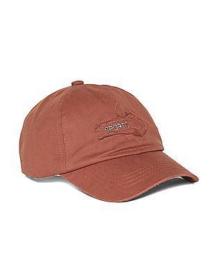 Colt Orange Appliqued Front Panelled Cap