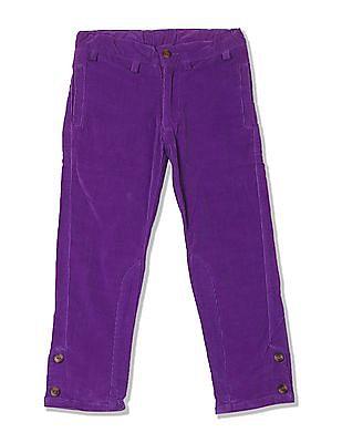 Cherokee Girls Regular Fit Corduroy Trousers