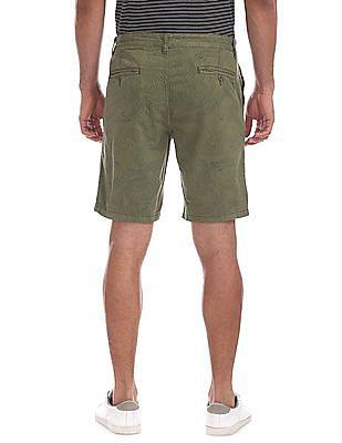 Cherokee Slim Fit Printed Shorts