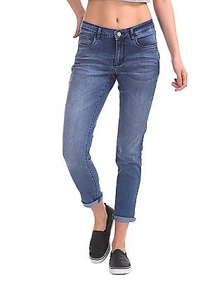 Cherokee Slim Fit Mid Rise Jeans
