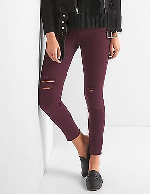GAP High Rise Ankle Jeggings