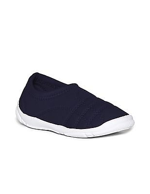 Colt Blue Boys Quilted Slip On Shoes