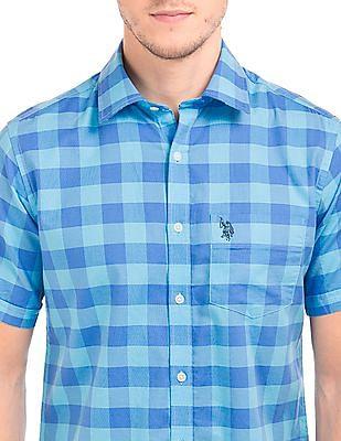 U.S. Polo Assn. Check Cotton Shirt