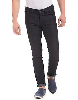 Flying Machine Low Rise Skinny Fit Washed Jeans