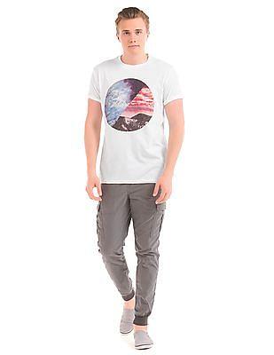 Aeropostale Graphic Print Crew Neck T-Shirt