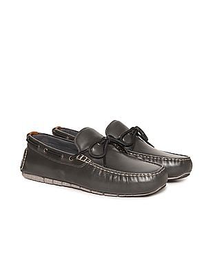 Cole Haan ZeroGrand Leather Boat Shoes