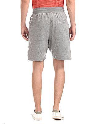 Colt Grey Drawstring Waist Heathered Shorts