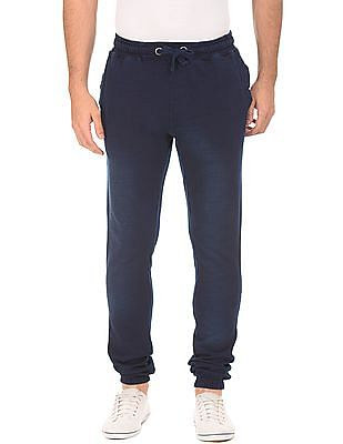 U.S. Polo Assn. Denim Co. Stone Washed Drawstring Waist Joggers