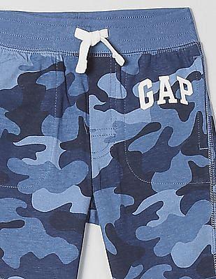 GAP Toddler Boy Printed Cotton Shorts
