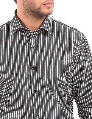 Arrow Striped Slim Fit Shirt