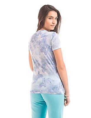Aeropostale Printed Short Sleeve T-Shirt