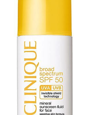 CLINIQUE Mineral Sunscreen Fluid For Face SPF 50