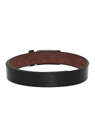 Colt Black Metallic Clip On Buckle Belt