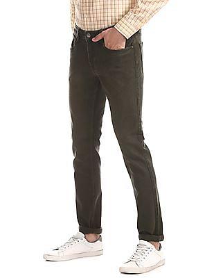 Cherokee Green Slim Fit Rinsed Jeans