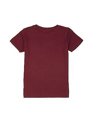 Cherokee Boys Crew Neck Cotton T-Shirt