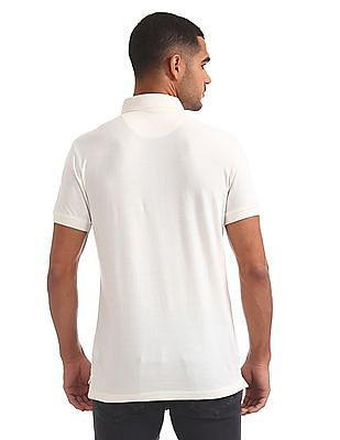 U.S. Polo Assn. Denim Co. Regular Fit Printed Polo Shirt