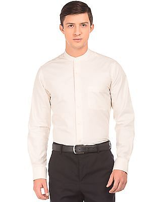 Arrow Mandarin Collar Regular Fit Shirt