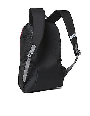 Flying Machine Printed Padded Laptop Backpack
