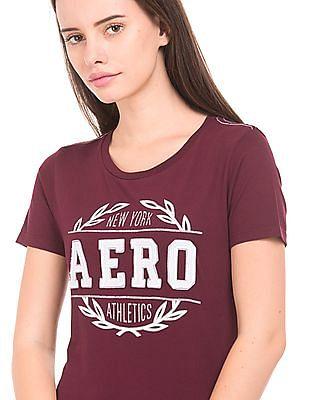 Aeropostale Round Neck Printed T-Shirt