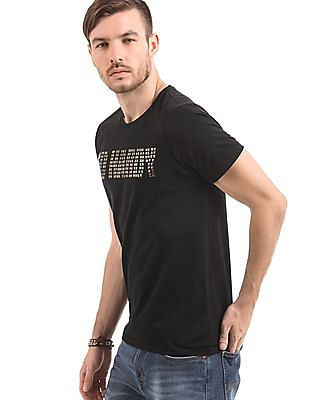 Ed Hardy Regular Fit Embellished T-Shirt