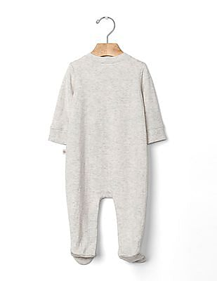 GAP Baby Personalitees Prodigy Footed One-Piece