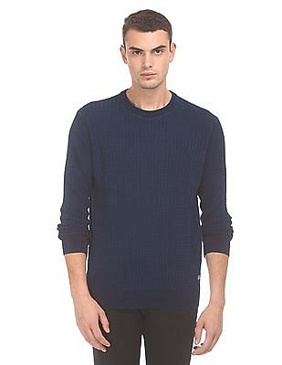 U.S. Polo Assn. Denim Co. Cable Knit Washed Sweater