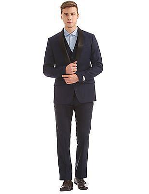 Arvind Shawl Collar Three Piece Suit
