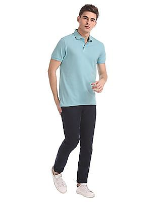 Arrow Newyork Slim Fit Solid Polo Shirt