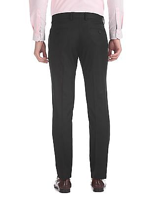 Excalibur Slim Fit Pleated Front Trousers