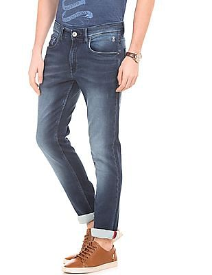 Izod Stone Washed Slim Fit Jeans