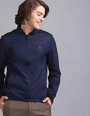 True Blue Blue Stylized Reversible Jacket