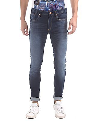 Cherokee Slim Fit Stone Washed Jeans
