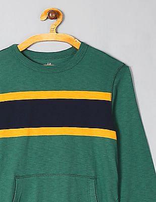 GAP Toddler Boy Green Crew Neck Kanga T-Shirt