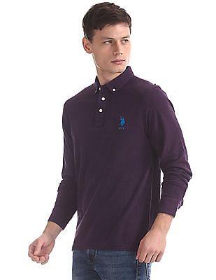 U.S. Polo Assn. Regular Fit Long Sleeve Polo Shirt