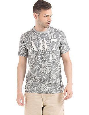 Aeropostale Palm Print T-Shirt