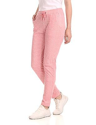 SUGR Mid Rise Printed Lounge Pants