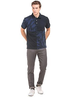 Gant Colour Block Regular Fit Polo Shirt