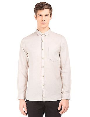 Cherokee Regular Fit Dobby Weave Shirt