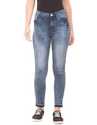 Flying Machine Women High Rise Skinny Fit Jeans