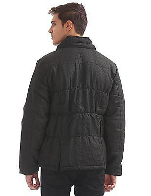 Flying Machine Hooded Padded Jacket