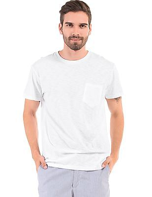 Aeropostale Regular Fit Slubbed T-Shirt